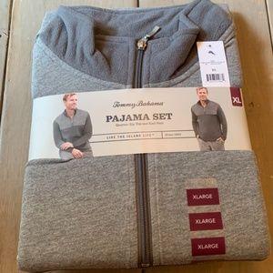 Tommy Bahama Men's Gray Pajama Set XLarge